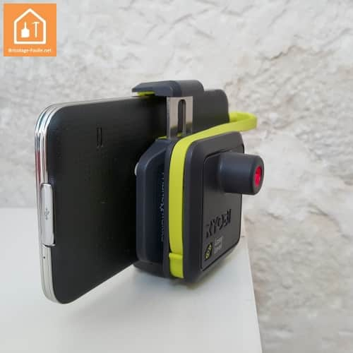 Niveau laser Ryobi Phone Works
