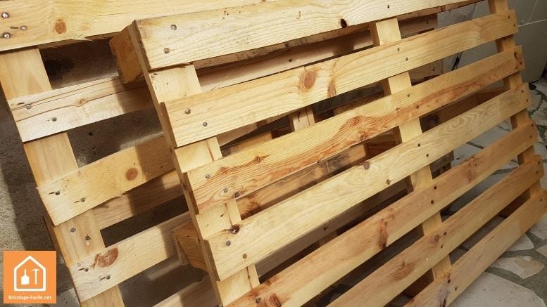 o trouver des palettes en bois gratuites ou pas ch res bricolage facile. Black Bedroom Furniture Sets. Home Design Ideas