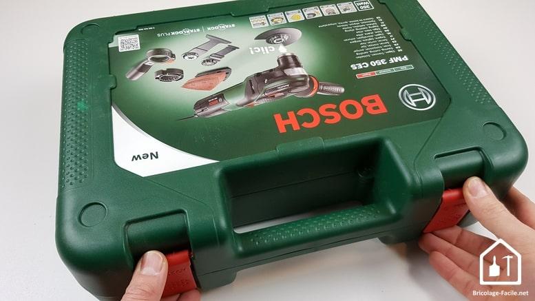 outil multifonction PMF 350 CES de Bosch - mallette rigide