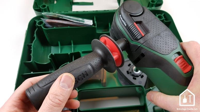 outil multifonction PMF 350 CES de Bosch - poignée secondaire