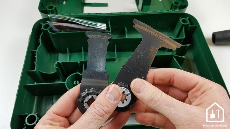 outil multifonction PMF 350 CES de Bosch - lames