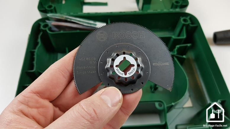 outil multifonction PMF 350 CES de Bosch - lame