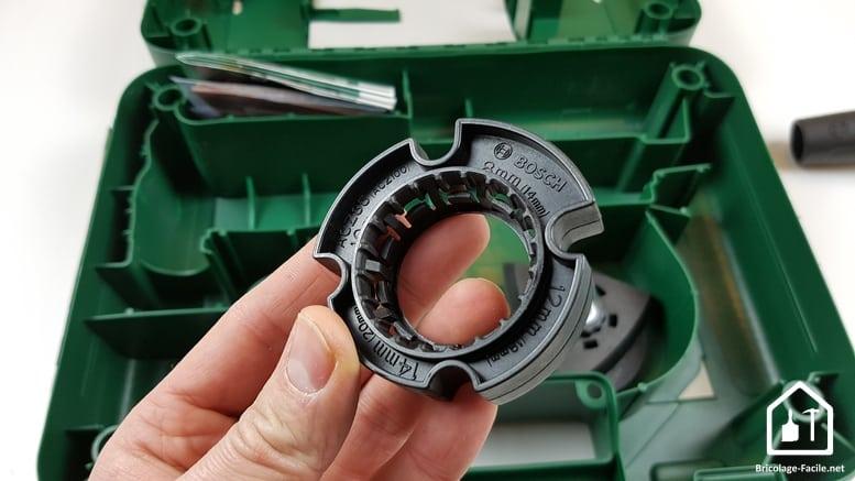 outil multifonction PMF 350 CES de Bosch - butée de profondeur