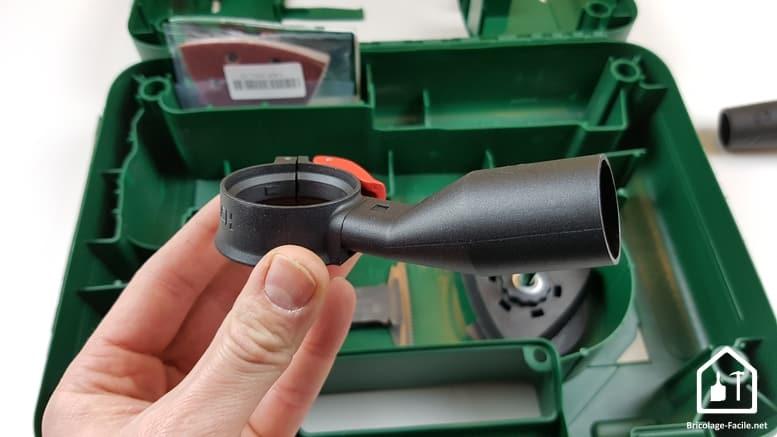 outil multifonction PMF 350 CES de Bosch - kit d'aspiration