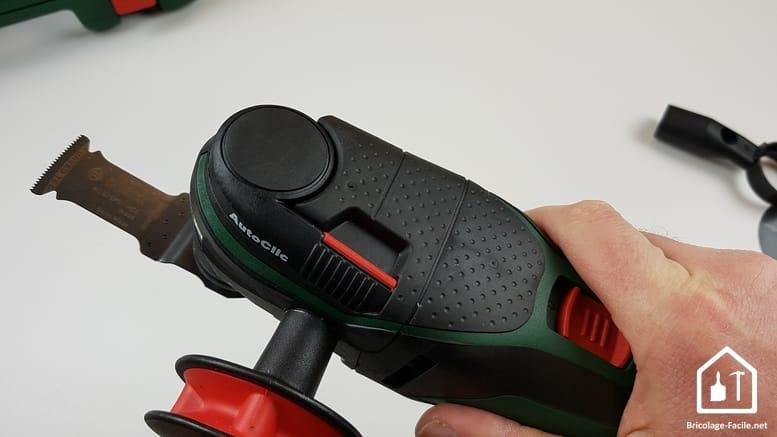 outil multifonction PMF 350 CES de Bosch - grip