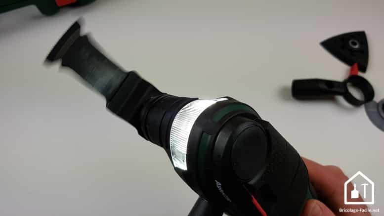 outil multifonction PMF 350 CES de Bosch - éclairage LED