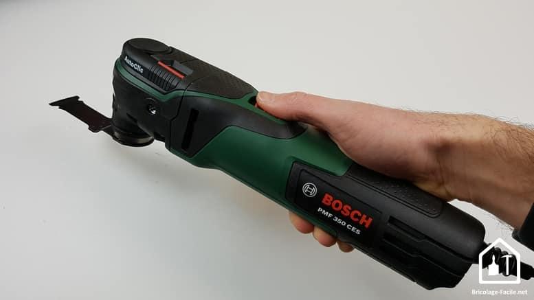 outil multifonction Bosch PMF 350 CES - prise en main