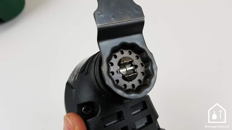 outil multifonction PMF 350 CES de Bosch - accessoire fixé