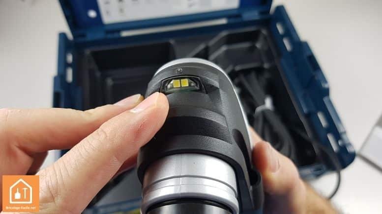 outil multifonctions GOP 40-30 de Bosch Professional - la LED