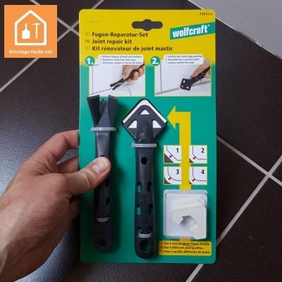 Les outils wolfcraft pour refaire un joint silicone bricolage facile - Comment enlever joint silicone ...