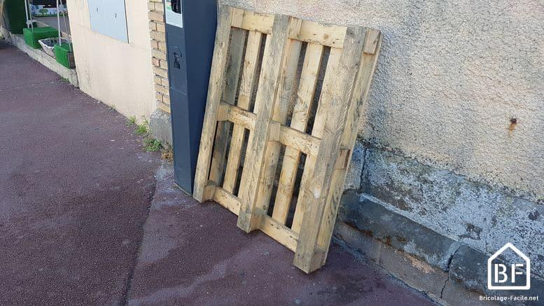 O u00f9 trouver des palettes en bois gratuites ou pas ch u00e8res Bricolage Facile # Trouver Palettes Bois Gratuites