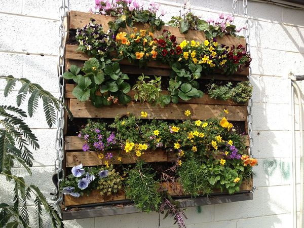 Palettes-pour-le-jardinage