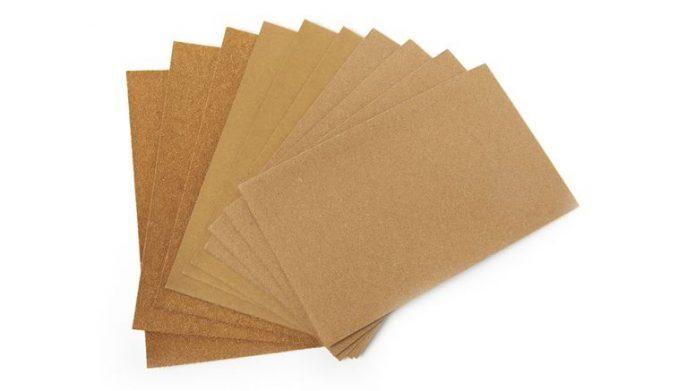 papiers abrasifs