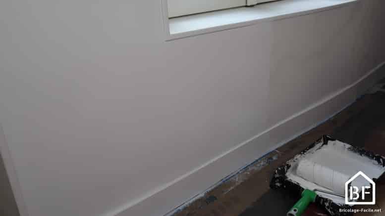 peindre au rouleau un mur