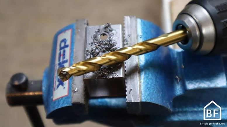 foret HSS pour percer le métal
