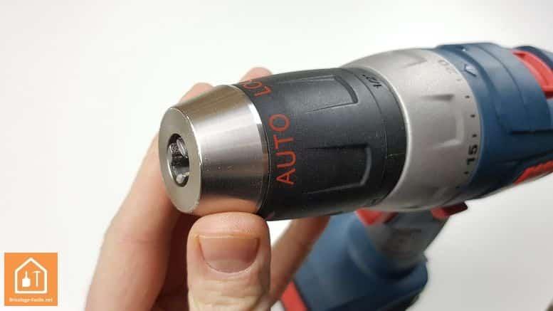 perceuse 14,4 Bosch Professional - mandrin auto-serrant