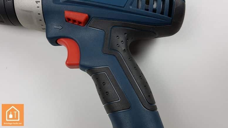 perceuse 14,4 Bosch Professional - grip
