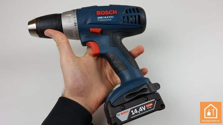 perceuse 14,4 Bosch Professional - équilibre