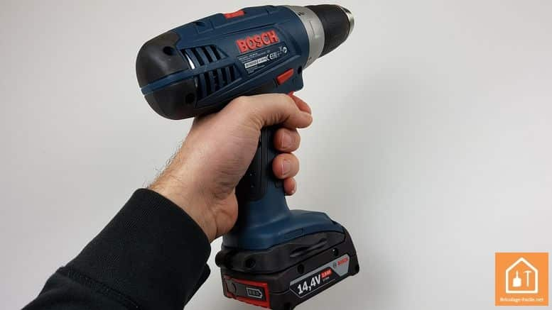 perceuse 14,4 Bosch Professional - prise en main