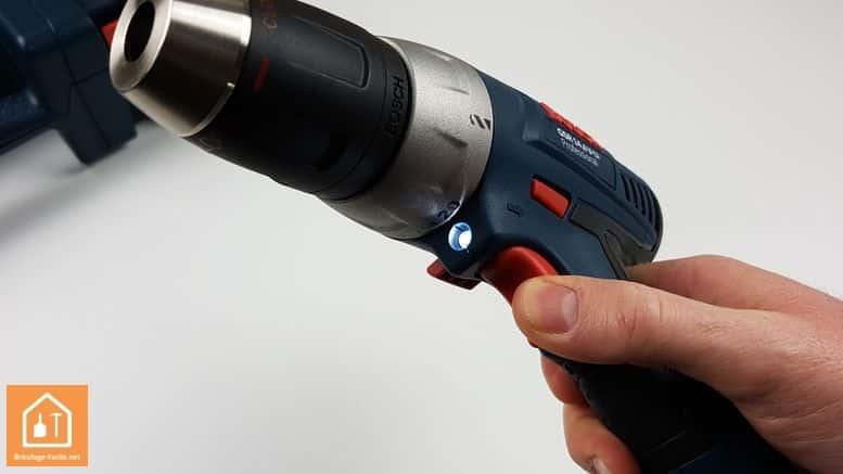 perceuse 14,4 Bosch Professional - éclairage LED