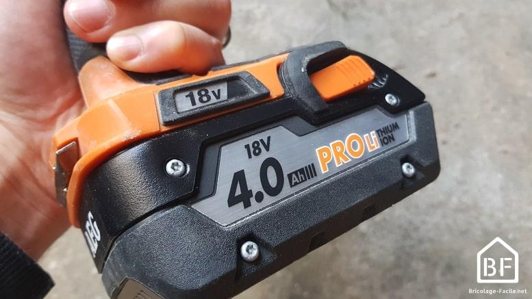 batterie AEG 18V