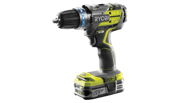 Perceuse à percussion Brushless de Ryobi