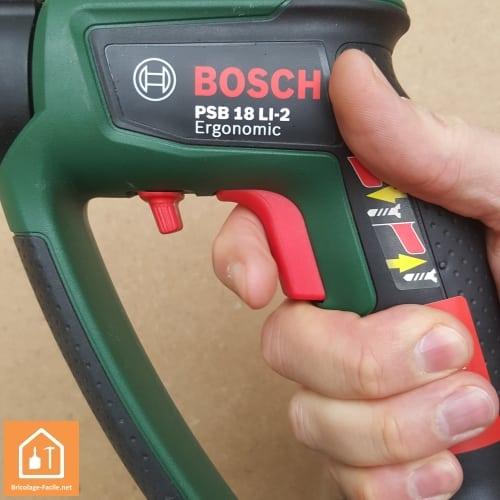Perceuse à percussion sans fil PSB 18 LI-2 de Bosch