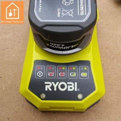 perceuse sans fil RCD1802 de Ryobi