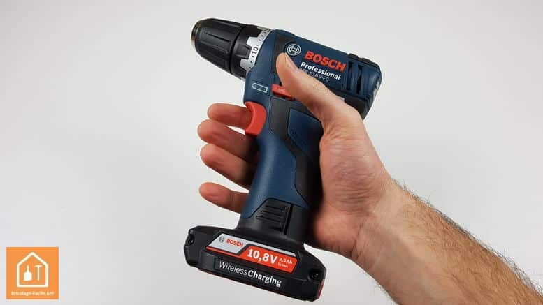 perceuse sans fil GSR 10,8V Bosch Professional - faible poids