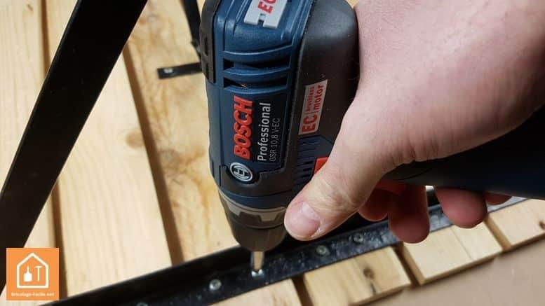 perceuse sans fil GSR 10,8V Bosch Professional
