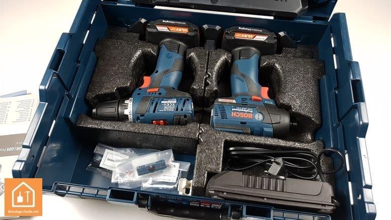 perceuse sans fil GSR 10,8V Bosch Professional - coffret