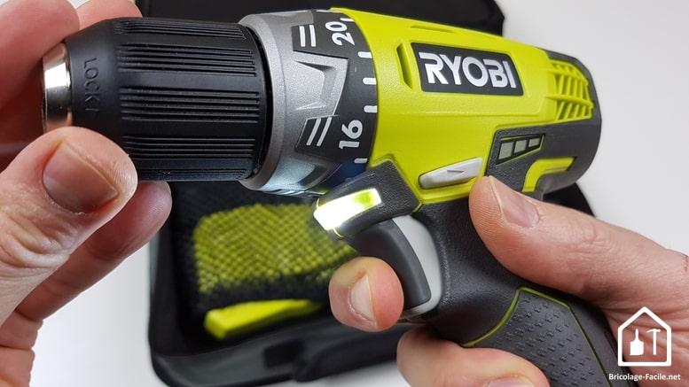 Perceuse visseuse 12 V de Ryobi -