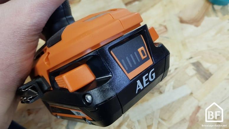 gamme de batteries 18V