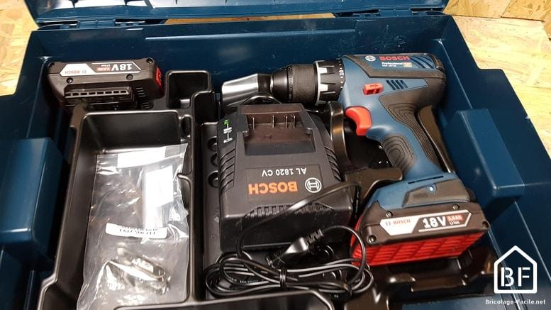Bosch GSR 18V-28 Professional dans son coffret