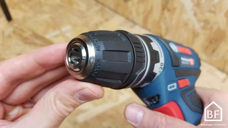 Mandrin de la Bosch GSR 12V-15 FC