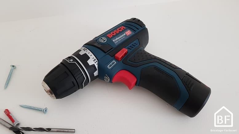 perceuse-visseuse DSR 12V de Bosch professional
