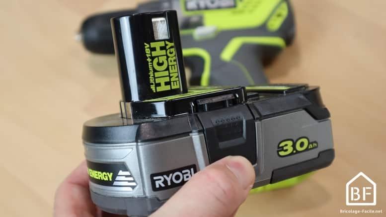 Nouvelle batterie Ryobi High Energy
