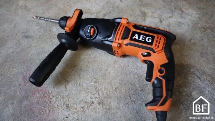 Perforateur burineur AEG 800W KH 24 IXE