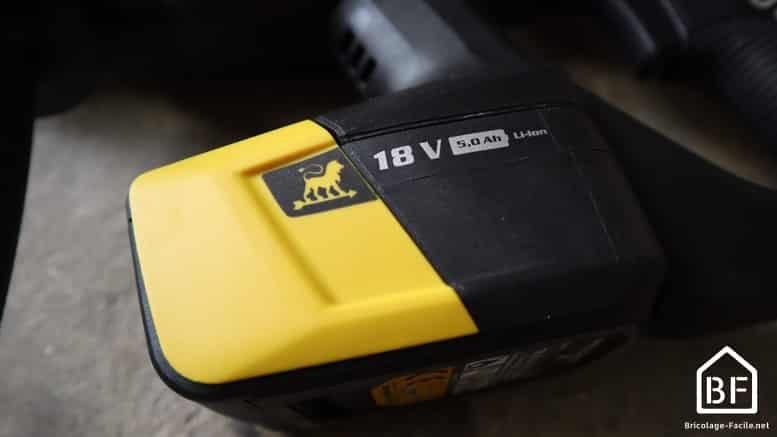 batterie 18V Peugeot