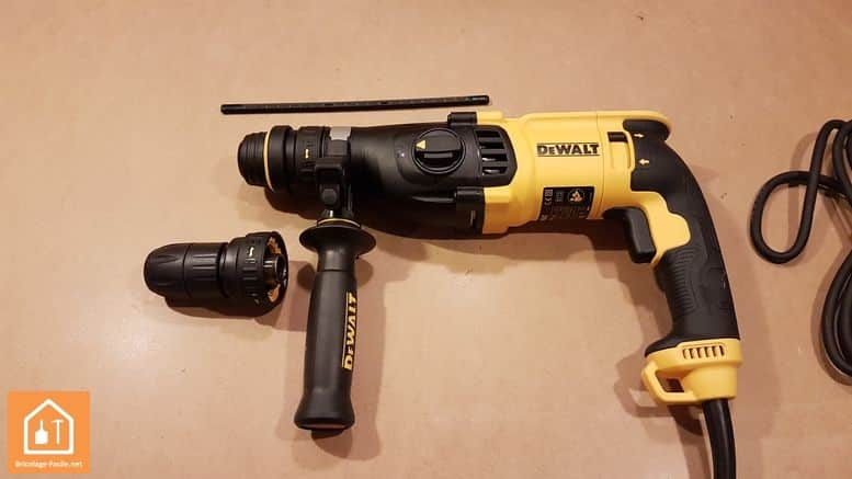 Perforateur SDS-Plus D25134K de Dewalt