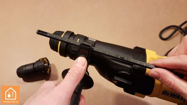 Perforateur SDS-Plus D25134K de Dewalt
