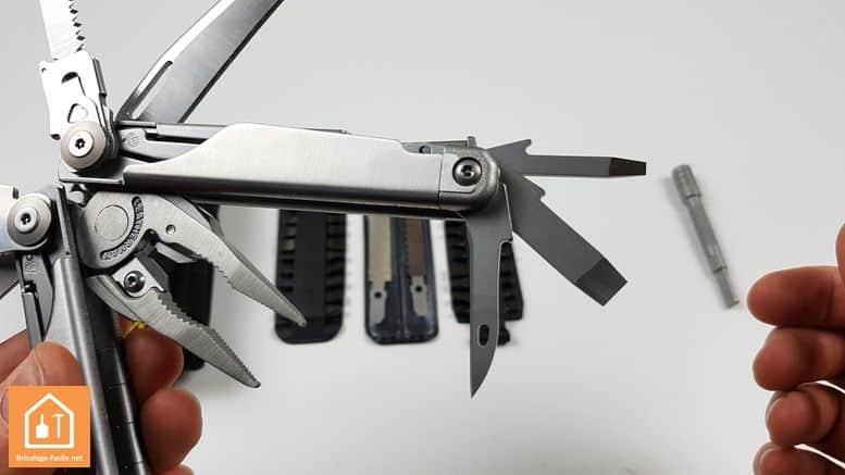 pince multifonctions Surge de Leatherman - les autres outils