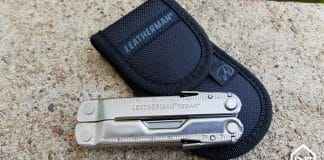 Leatherman Rebar et son étui