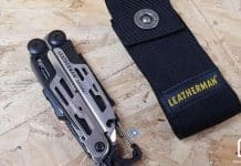 Leatherman Signal et son étui