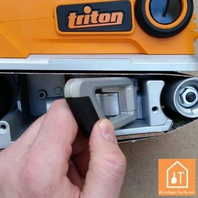 Ponceuse à bande TA1200BS de Triton
