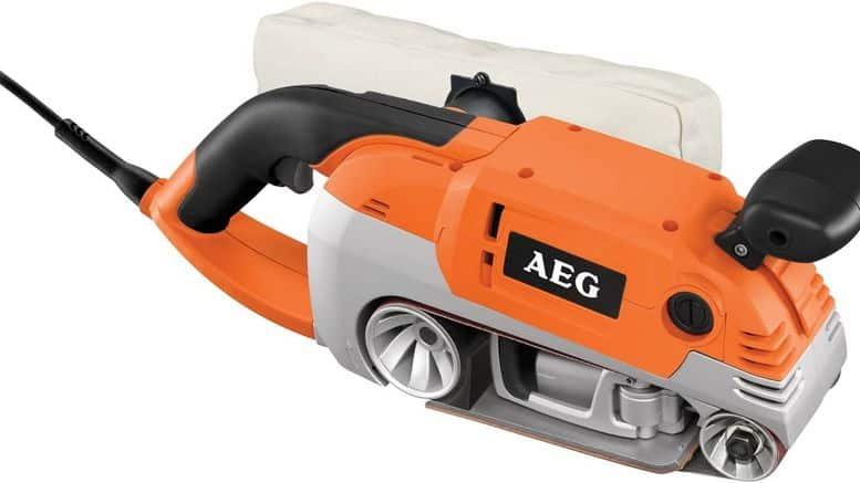 ponceuse à bande AEG HBS 1000 E