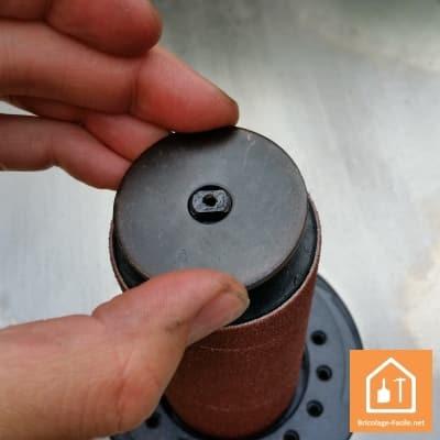 Ponceuse à cylindre oscillant TSP S450 de Triton