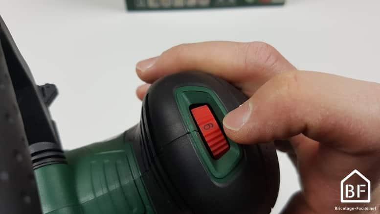 Ponceuse excentrique sans fil AdvancedOrbit 18V de Bosch -