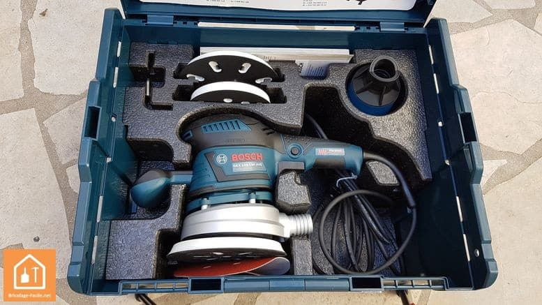 Ponceuse excentrique GEX 125-150AVE de Bosch - accessoires