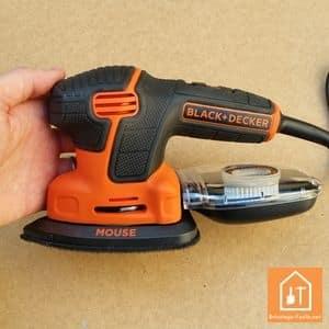 Ponceuse mouse 120w de black decker test complet - Ponceuse black et decker multifonction ...